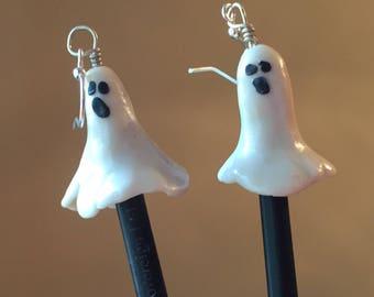 Ghost Earrings - Glow in the Dark