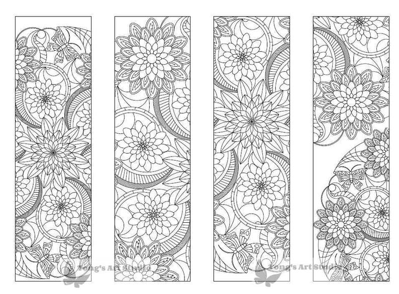 graphic about Printable Coloring Bookmarks named 4 Printable Mandala Coloring Bookmarks -018-01,Instantaneous Obtain, Printable coloring bookmarks, bookmarks, Do-it-yourself coloring bookmarks