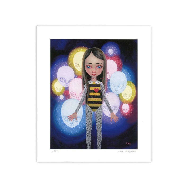 Queen Bee  Giclee Print  by Ana Bagayan 2021 image 0