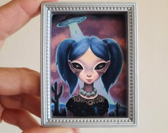 NEW Starchild - Mini Print by Ana Bagayan 2021
