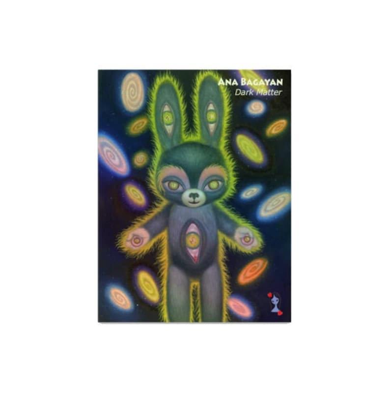 Dark Matter  Holographic Vinyl Sticker  by Ana Bagayan  image 0