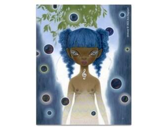 NEW Vinyl Sticker - Octavea - Made by Ana Bagayan - Satin Finish