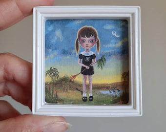 Kinder Planet - Mini Print by Ana Bagayan 2021
