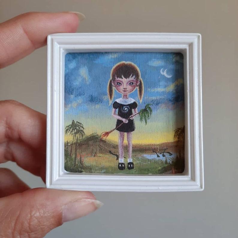 Kinder Planet  Mini Print by Ana Bagayan 2021 image 0