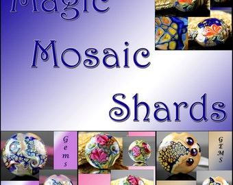 Tutorial The Secrets Revealed Magic Mosaic Lampwork Shards GemsInBloom