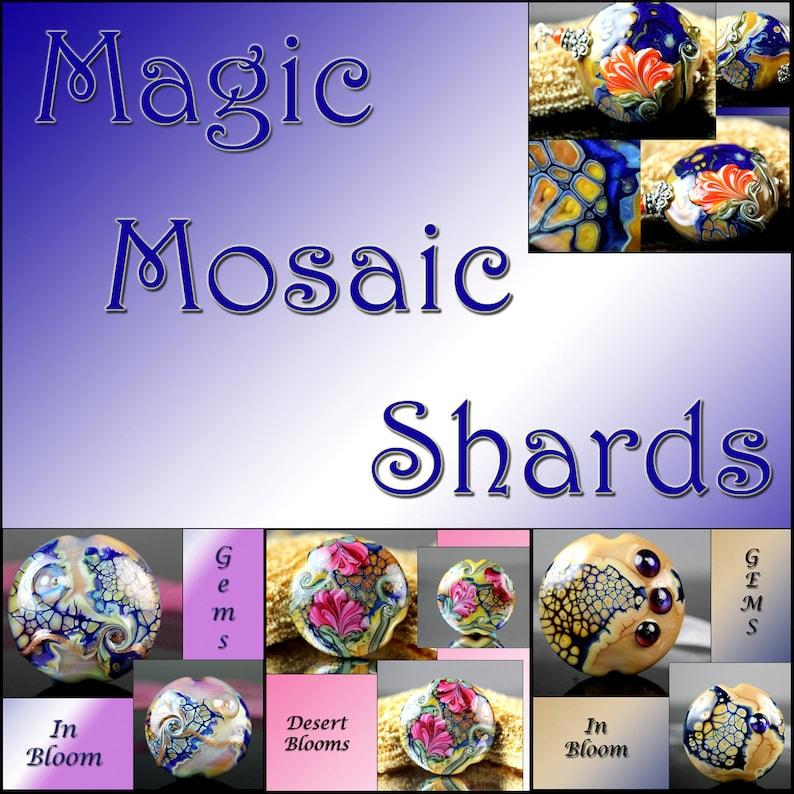 e20b7ded924 Jacqueline Parkes Magic Mosaic Shards Lampwork Tutorial