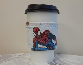 Reusable Drink Wrap Spider Man