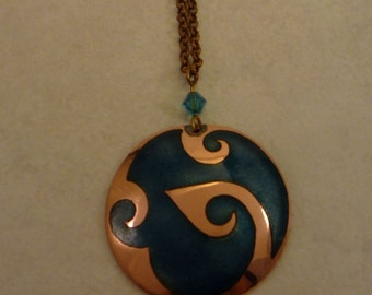 Moon Wave Necklace