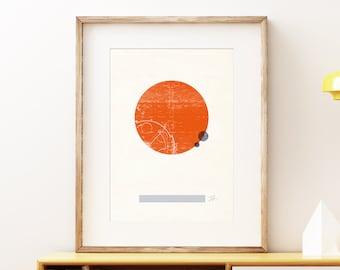 Planets art prints