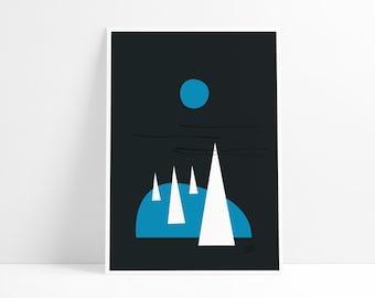 Forbidden Forest art print