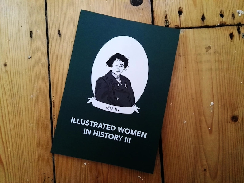 Illustrated Women in History zine issue III submissions diy image 0