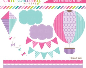 Kite border clipart etsy voltagebd Image collections