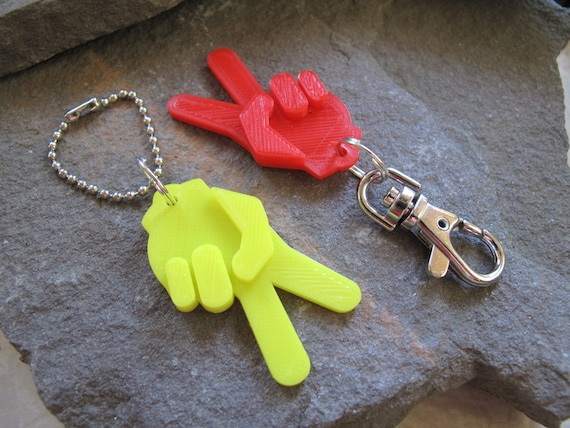 pla jeep wave keychain 3d printed jeep wave it s a etsy