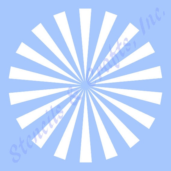 5 starburst stencil template stencils background etsy