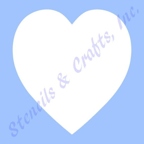 5 Herz Herzen STENCIL Vorlagen Vorlage Schablonen | Etsy