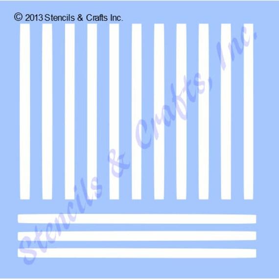 Stripes Lines Schablone Linie Vorlagen Kunst Farbe Handwerk Etsy