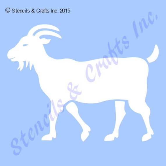 5 5 Goat Stencil Template Farm Animal Stencils Background Pattern Template Craft Templates Paint Art Craft For Wood Canvas Scrapbook New