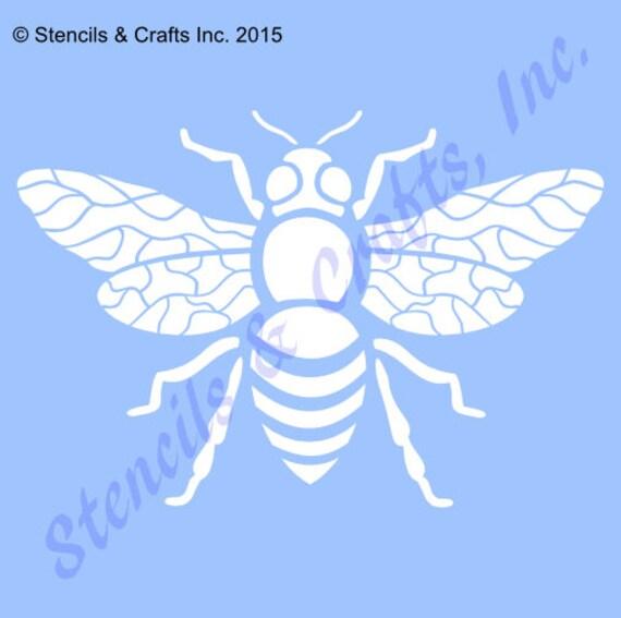 5 Biene Schablone Vorlage Schablonen Hintergrund Muster | Etsy