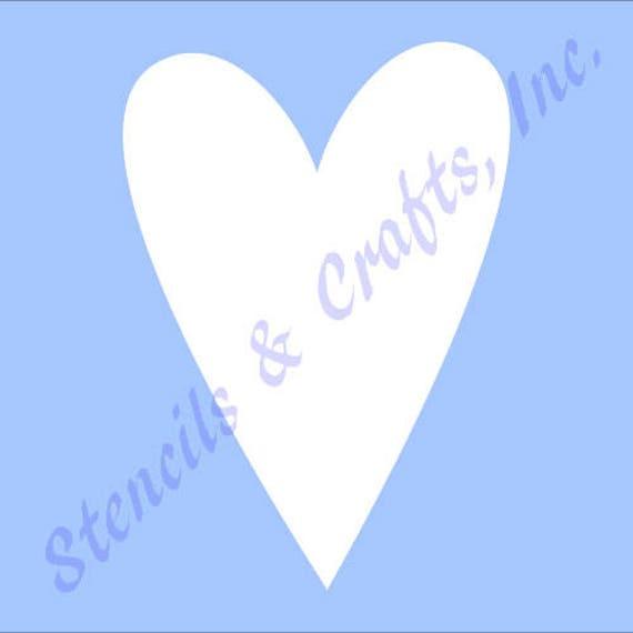 7 PRIMITIVE Schablone Herz Valentinstag Vorlagen Herzen | Etsy