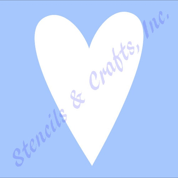 Heart Background Stencil Valentines Card making Scrapbooking UK seller Fast post