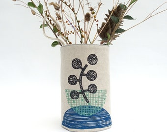 Fabric Vase Cover-Up/Wrap-Around
