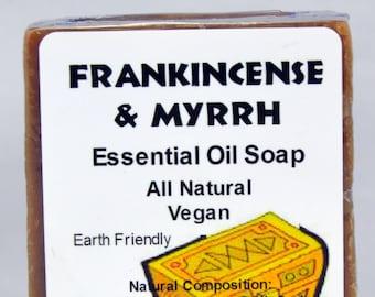 Frankincense & Myrrh Essential Oil Soap Vegan