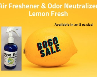 FALL CLEARANCE SALE - Air Freshener & Odor Neutralizer Spray - All Scents