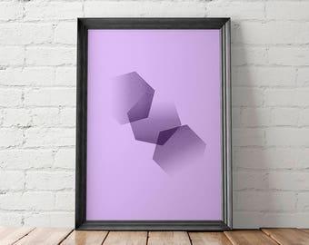 Abstract Printable, Abstract Home Decor, Abstract Wall Art, Abstract Prints, Geometric Printable, Modern Printable, Minimalist Prints