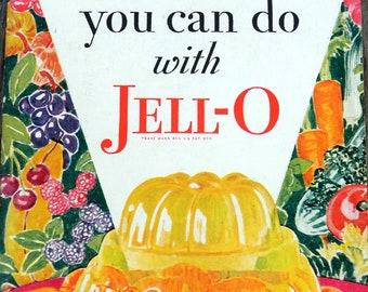 Antique 1920s Jell-O Cookbook Jello Recipe Booklet Vintage   Etsy