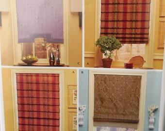 Simplicity 4105 - Christopher Lowell Shades & Blinds - DIY Window Decor, Home Decor, Stylish Designer Interior Design - UNCUT
