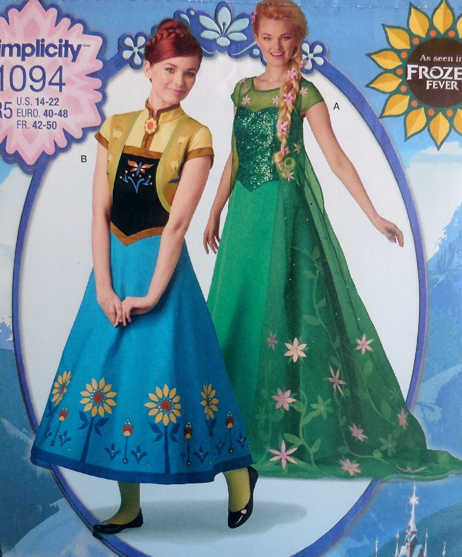 a6548fb43ed Picture of Frozen Fever Elsa Cosplay Costume mp002711 ... 50. Frozen Fever Disney  Princess ...