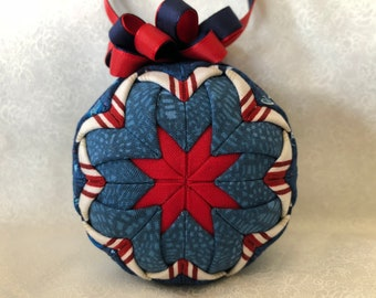 "3"" Quilted Ornament 