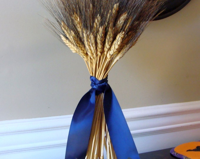 Fall Decor- Wheat Sheaf Thanksgiving Decoration- Thanksgiving Centerpiece Table Decoration- Mantle Decoration- Fall