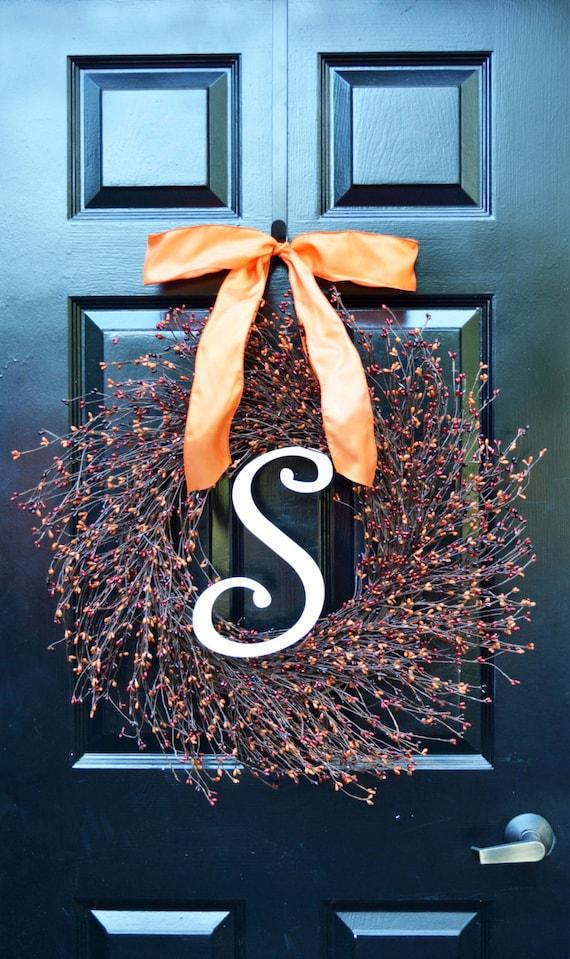 Fall Pip Berry Wreath- Autumn Berry Wreath- Fall Decorations- Front Door Wreath- Fall Wreaths- Fall Sunset Pip Berries- Autumn Berries