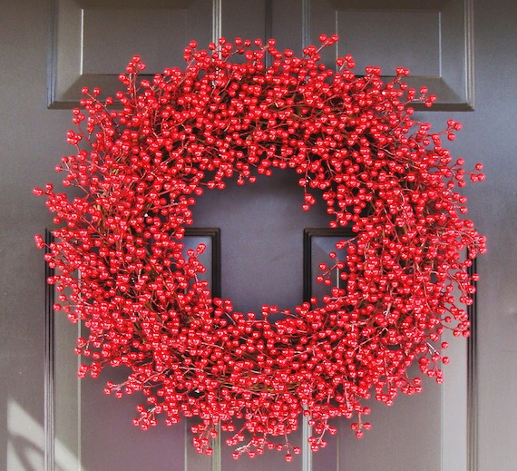 christmas wreath winter berry chistmas wreath valentines day wreath valentine decor year