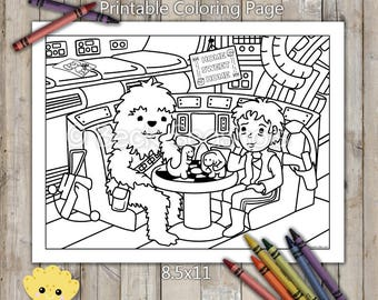 Star Wars Old Guys Printable Coloring Page