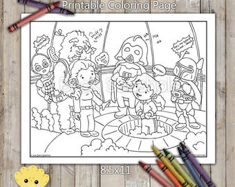 Star Wars Printable Coloring Page Carbonite Chamber From Empire Strikes Back
