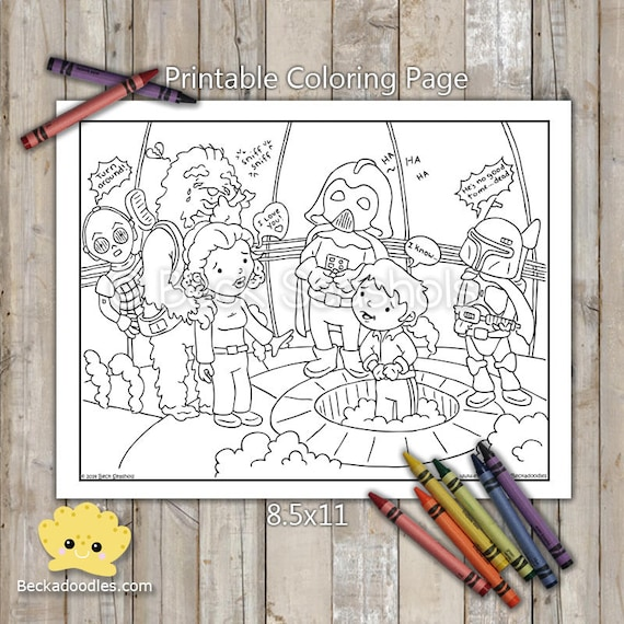 The Empire Strikes Back coloring pages | Free Coloring Pages | 570x570