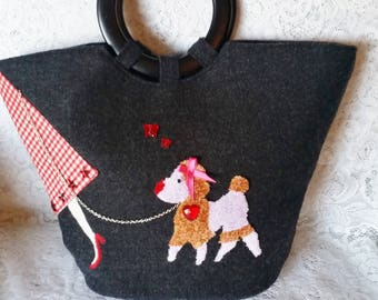 0d145dcfe30b Poodle paris bag