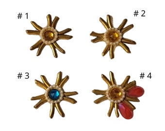 Enid Collins, 1 Authentic Replacement, One Individual, Used Replacement Bead, Collins Of Texas