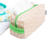Oilcloth Makeup Bag Cosmetic Case Large