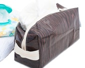 Mens Toiletry Bag Cosmetic Case Oilcloth Large