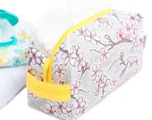 Makeup Bag Toiletry Kit Cosmetic Case Oilcloth Large