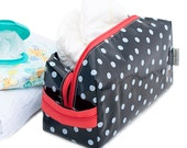 Oilcloth Toiletry Bag Cosmetic Case Large