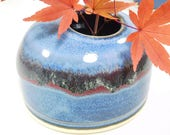 Japanese Flower Ikebana Container, Ceramic, Handcrafted, Classic