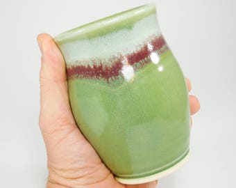 Ceramic Cup - Handmade Cup - 5 Inches Tall - Clay Cup - Pottery Tumbler - Cup Pottery - Cup Ceramic - Handmade Ceramic Cup - In Stock