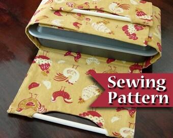 Casserole carrier pattern | PDF Tutorial | Casserole dish pattern | Instant download | Casserole carrier to sew | DIY sewing pattern