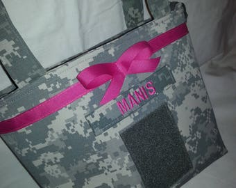 Army Wife Army Mom purse in your choice military fabric
