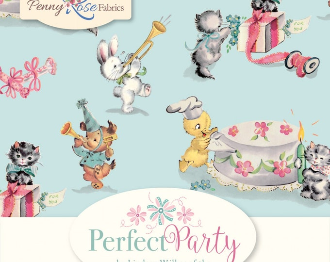 "10"" Stacker - 42 Pieces - Perfect Party Fabric by Lindsay Wilkes for Riley Blake Designs and Penny Rose Fabrics"