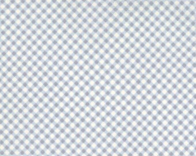Moda Lily and Will Blue/Cream Cotton Fabric by Moda